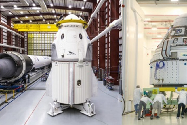 SpaceX's Crew Dragon, Boeing's Starliner - SpaceX/Boeing