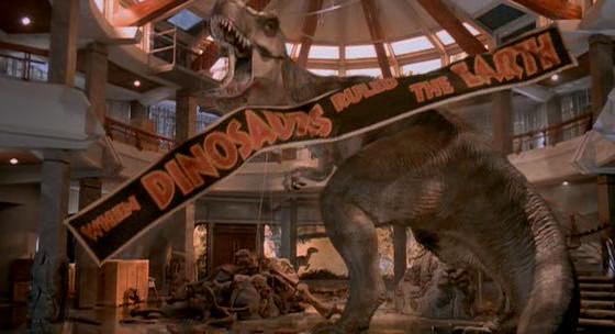 T. rex Jurassic Park - Universal Pictures