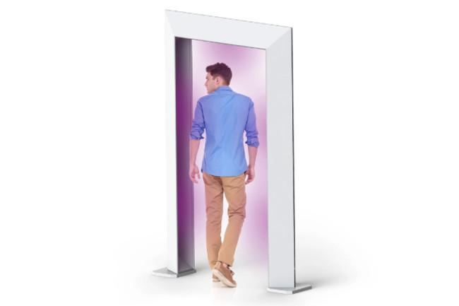 UV Sanitizing Entry Gate - healthelighting.com