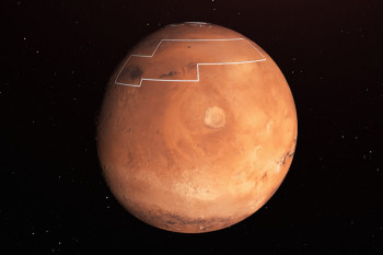 Scientists Mapped Water on Mars and Found it Buried Just Inches Deep