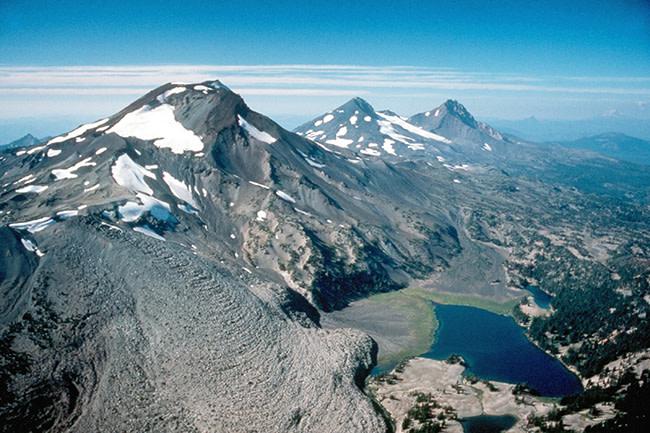 Three Sisters Mountains, Oregon - USGS
