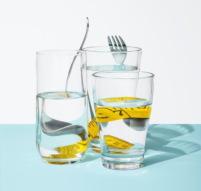 Water Glasses Diet Fasting - Zarebinski
