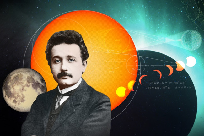 Einsteins Eclipse header