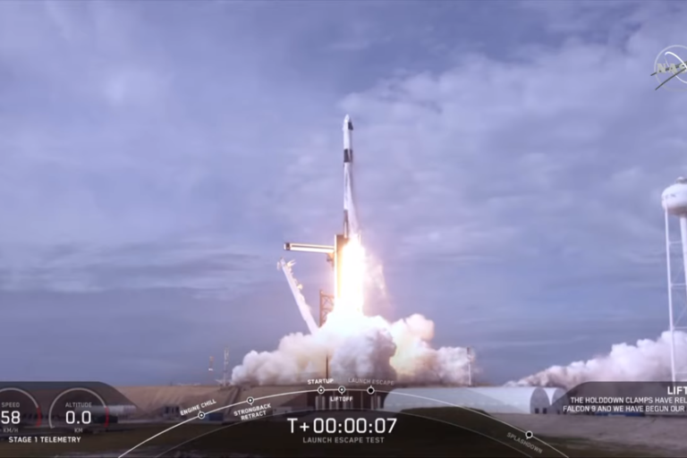 Latest Crew Dragon Test Moves SpaceX Closer to a Crewed Flight