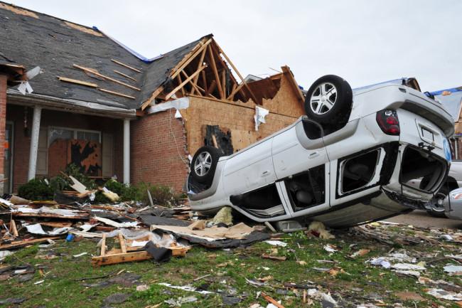 tornado damage - shutterstock