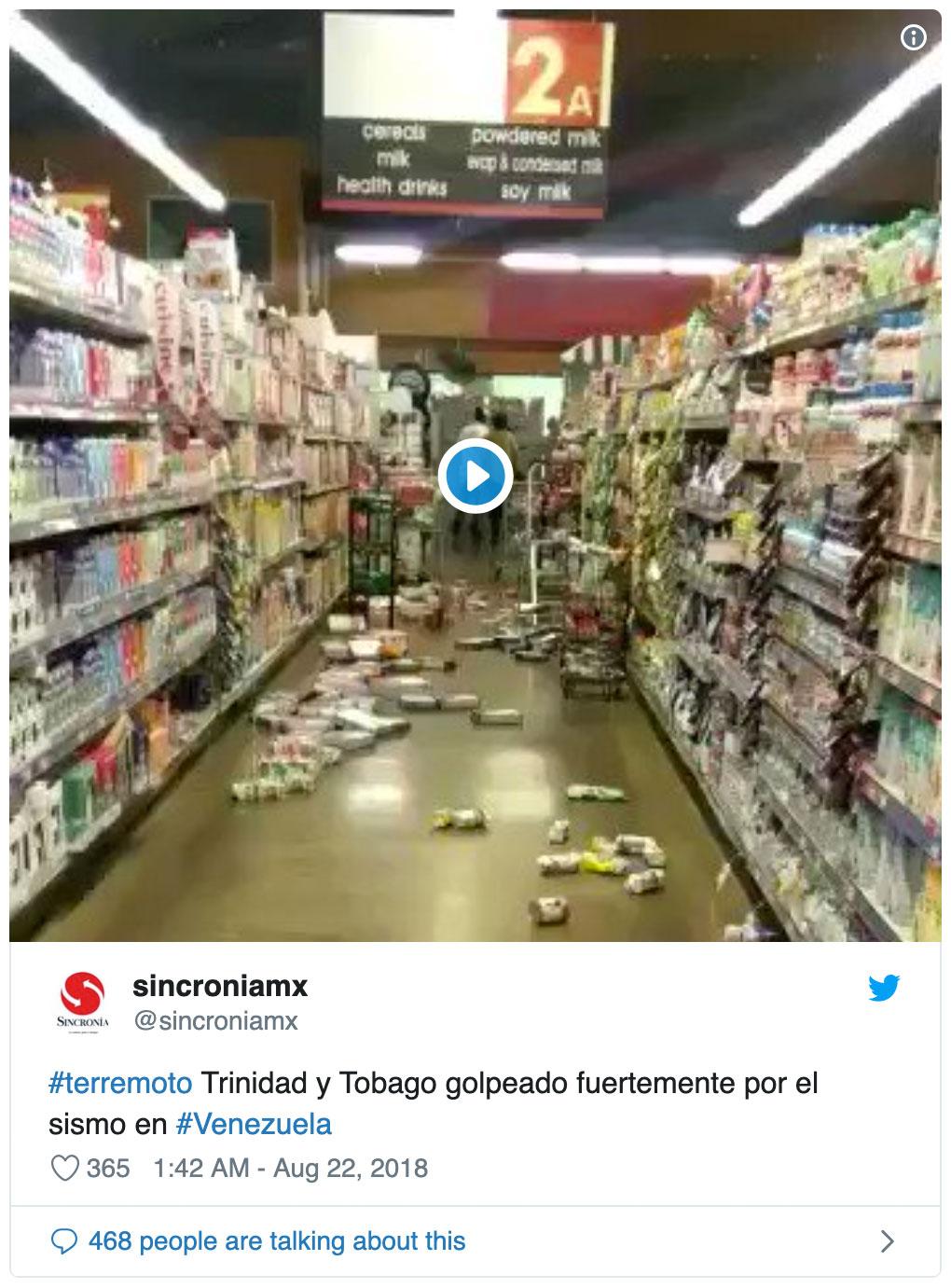Venezuela Rocked By Large Earthquake | Discover Magazine