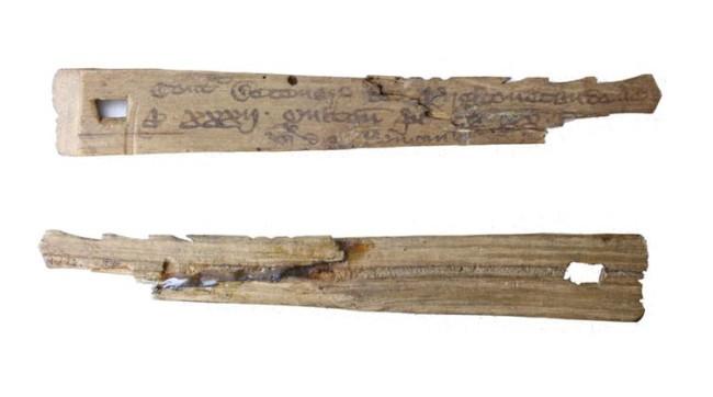 medieval english tally sticks cc by-sa