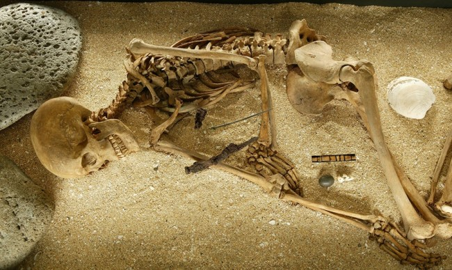 First Icelanders Skeleton - Ivar Brynjolfsson/The National Museum of Iceland