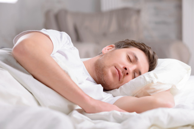 Man Sleeping - Shutterstock