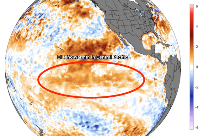 Weak El Nino May 2019 - University of Maine