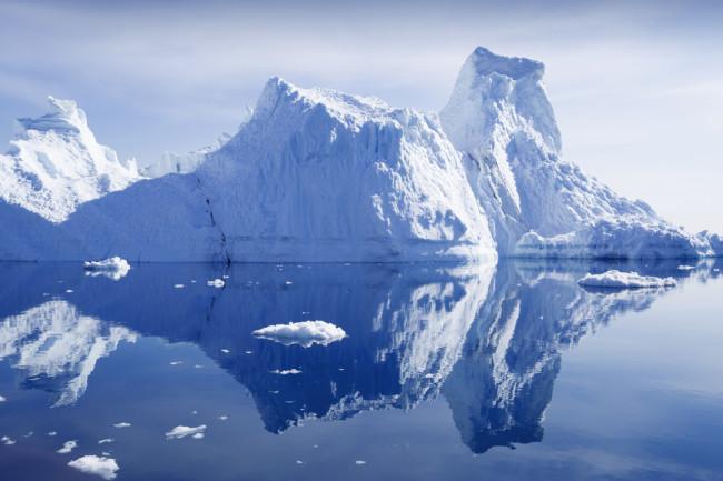 glacier greenland - shutterstock