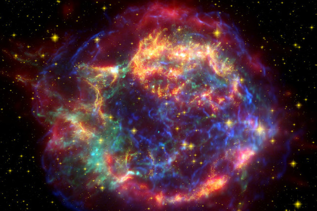 Supernova Cassiopeia A - NASA