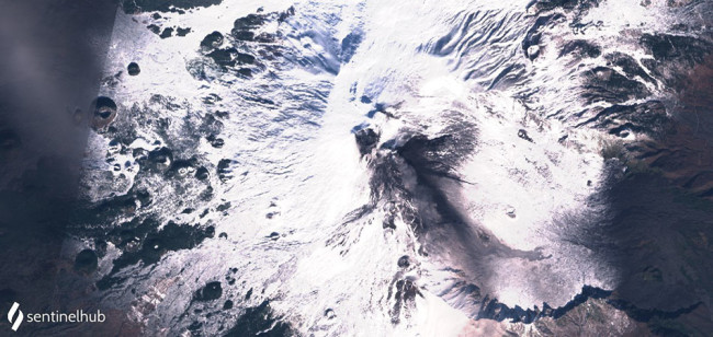 Etna from Space