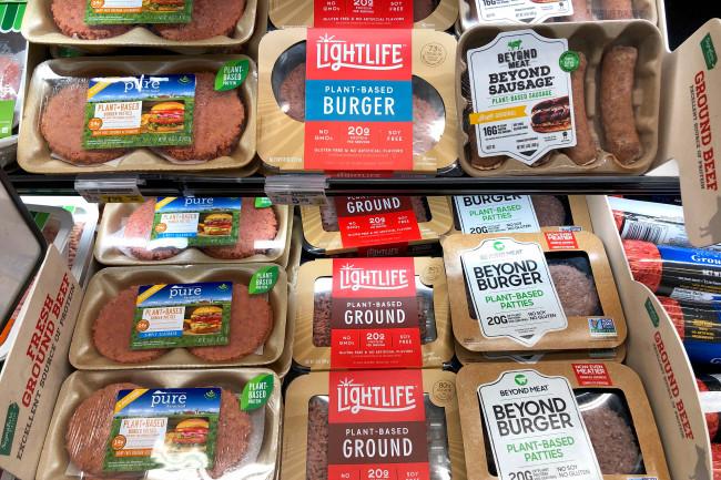 Fake Meat Beyond Burger - Shutterstock