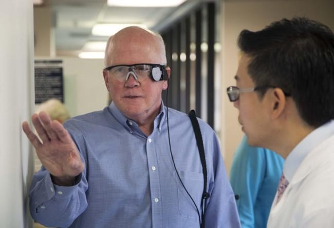 Duke Eye Center surgeon Paul Hahn