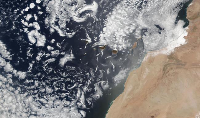 Von Karman Vortices, Daytime - NASA