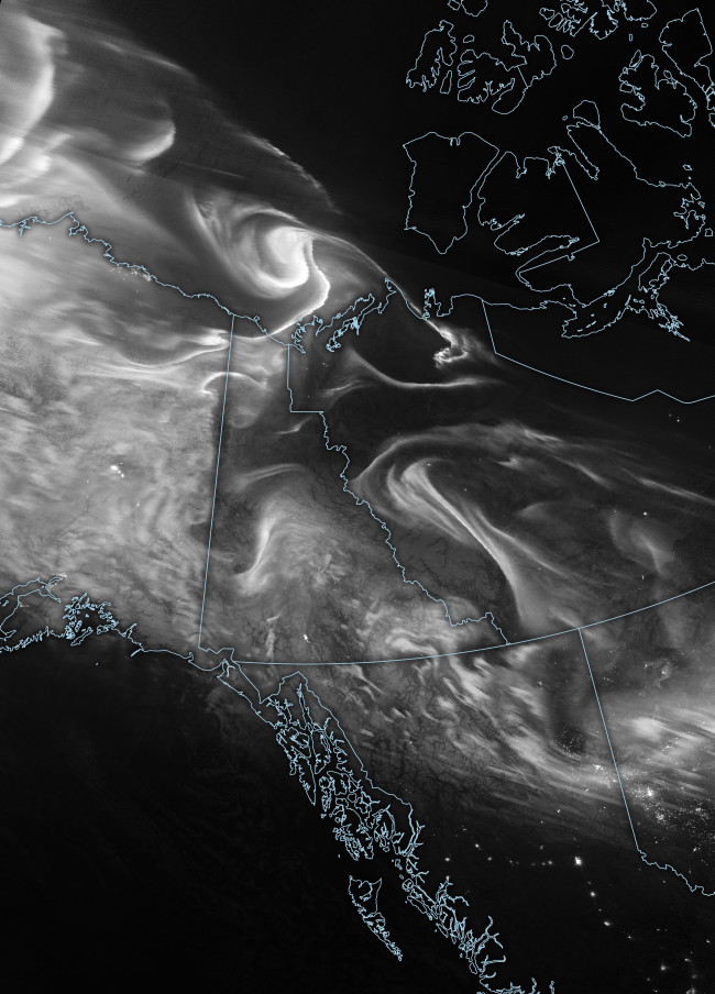 Northern Lights as Seen From Space