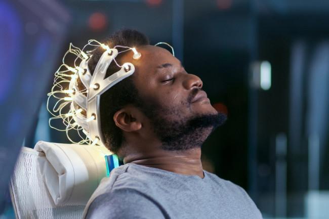 sleep study concept the brain - shutterstock