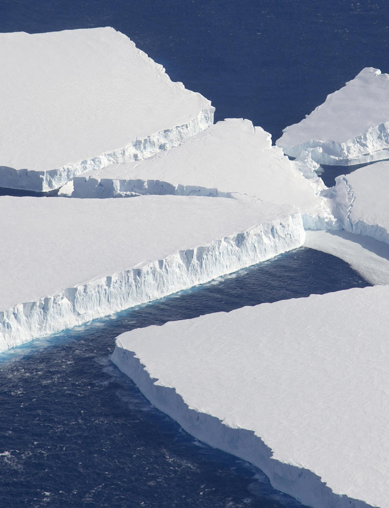 Thwaites Glacier Antarctica - Harbeck