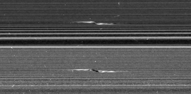 Propeller, Saturn's Rings - NASA