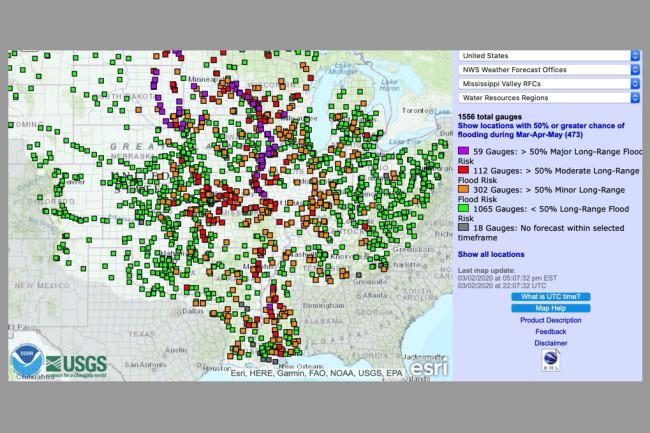Mississippi River Flooding Forecast