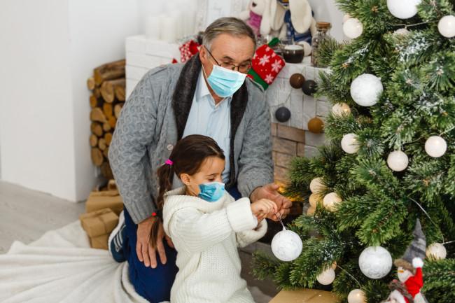holiday coronavirus shutterstock