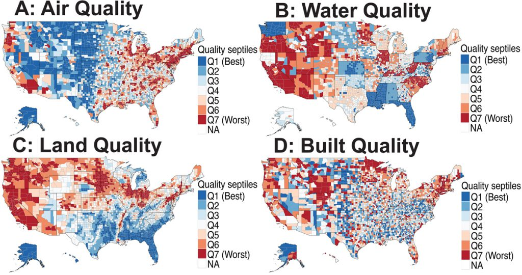 Air and Water Quality Maps - PLOS Bio
