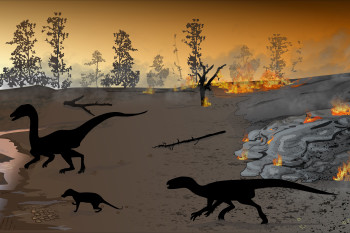 Fossil Footprints Reveal Ecosystem In Midst Of A Mass Extinction