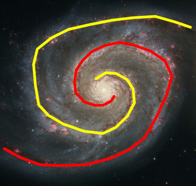 spiral graph galaxy - NASA