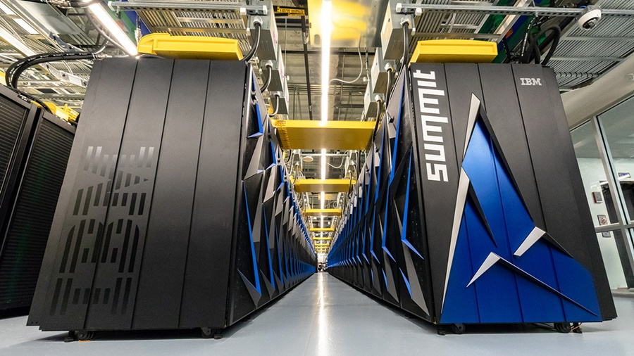 Oak Ridge National Lab Summit supercomputer
