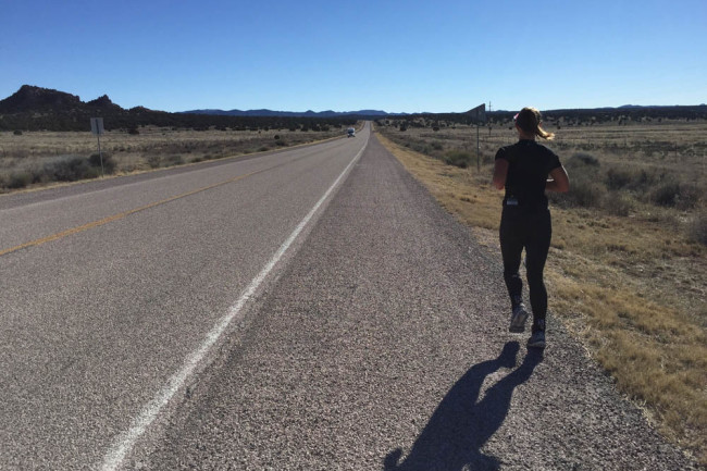 Runner, Race Across the USA, 2015 - Bryce Carlson
