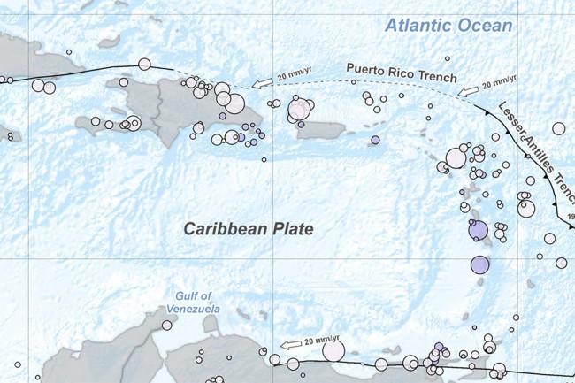 Tectonics of the Carribbean