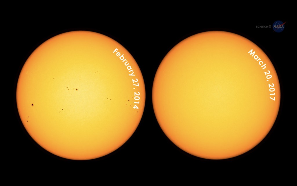 The Naked Sun — Where Have All Its Spots Gone?   Discover