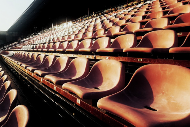 Empty Baseball Stadium Seats - Shutterstock