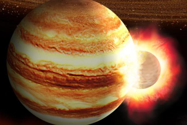 Jupiter Collision - Astrobiology Center, Japan