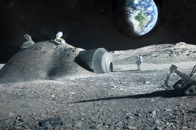 Lunar Base - ESA
