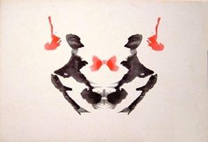 classic Rorschach inkblots