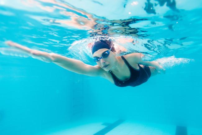 swimmer - shutterstock