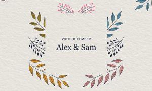Online Wedding Invitation Template