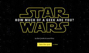Star Wars Quiz Template