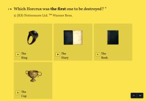 Harry Potter Trivia Quiz Template