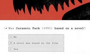 Steven Spielberg Quiz Template