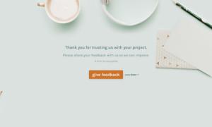 Website Design Feedback Form Template