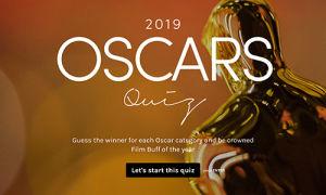 Oscars 2019 Quiz Template
