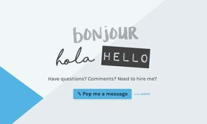 Online Contact Form Template