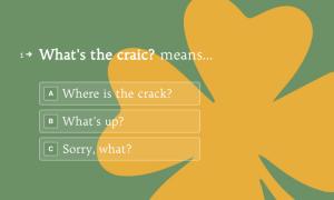 Irish Quiz Template