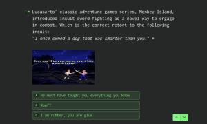 Gaming Quiz Template