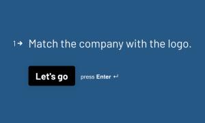 Logo Quiz Template