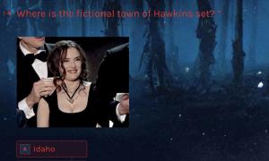 Stranger Things Trivia Quiz Template