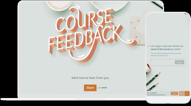 device course feedback